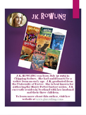 10 YA Author's Posters--Printed and Laminated