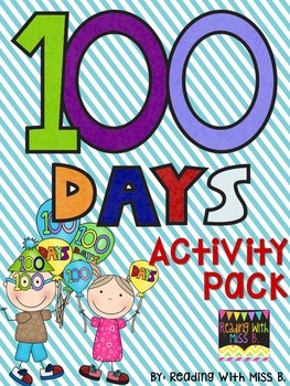 https://www.teacherspayteachers.com/Product/100-Days-Of-School-Full-Activity-Packet-1059032