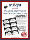 100 Drama / Theatre Arts Improv Acting Scenarios