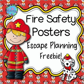 Freebie! Fire Safety Escape Planning Posters!