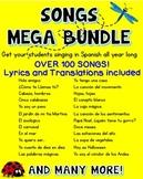 100+ Songs in Spanish ♬ {Mega Bundle}