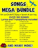100+ Songs in Spanish ♬ {Mega Bundle}