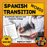 100 Spanish Transition Words to Improve Writing for Beginn