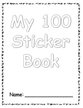 100s Day Sticker Book