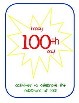 100th Day Activity Booklet