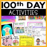 100th Day  Math and Literacy Fun! Mini Unit