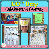 100th Day of School Celebration Centers {with editable par