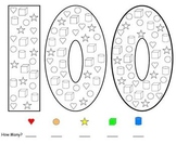 100th Day of School Math - Counting