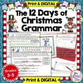 12 Days of Christmas Grammar: Daily Review Holiday Literac