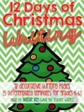 12 Days of Christmas Writing - Writing Activities for the