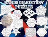 12 U.S. History Review Puzzles Plus 6 Puzzle Templates