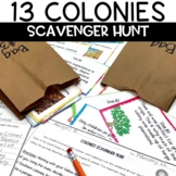 13 Colonies Scavenger Hunt Game