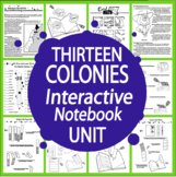 13 Original Colonies Unit-Common Core
