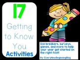 17 Back to School Ice Breaker Activities for Upper Elementary