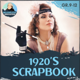 1920's Scrapbook Assignment