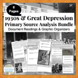 1930s Great Depression Primary Source Analysis Assignment