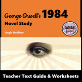 1984-George Orwell Teacher Text Guide and Worksheets