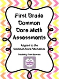 1st Grade - Common Core Math Assessments