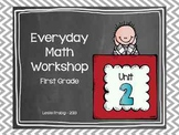 1st Grade Everyday Math Workshop Plans for Unit 2