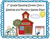 Reading Street 1st Grade Unit 4 Spelling and Phonics Game