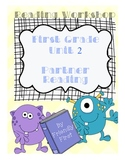 1st Grade Reading Unit 2 Charts and Lessons