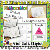 2-D Shapes Mini Booklet and Posters