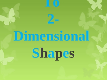 2 Dimensional Shapes Introduction