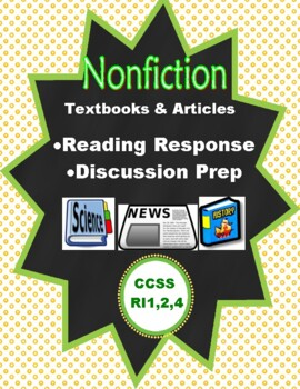 Nonfiction Reading and Discussion: 2 FREE Samples