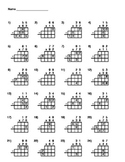 2 x 2 Digit Multiplication Fill In The Blanks