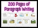 200+ Paragraphs for Centers, Homework, Morning Work {1st,