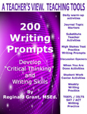 "200 Writing Prompts "" Develop Critical Thinking and Writin"