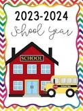 2015-2016 School Calendar {Freebie}
