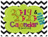 2015-16 Editable Calendar - PDF Version