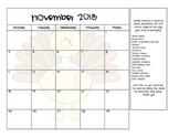2013/2014 Snack Calendar