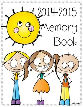 2014-2015 End of the Year Memory Book