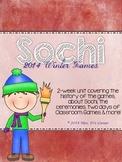 2014 Sochi Winter Games Unit - 3 Week Winter Games Unit (C