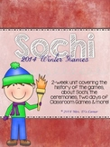 2014 Sochi Winter Games Unit - 3 Week Winter Games Unit (C