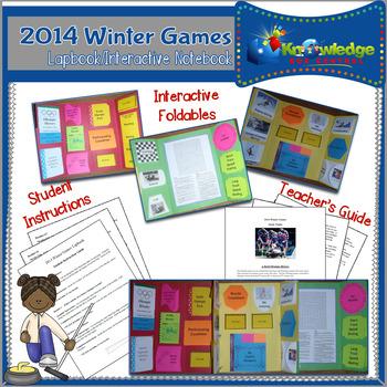 2014 Winter Olympics Lapbook