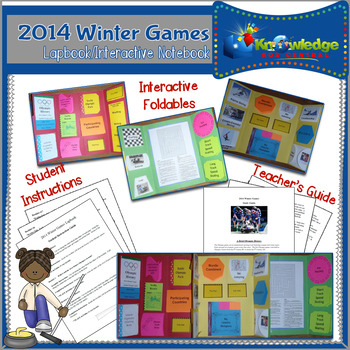 2014 Winter Olympics Lapbook