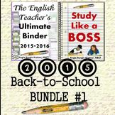 2015 Back-to-School BUNDLE #1