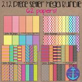 212 Piece Seller Mega Bundle- Digital Papers, Frames, Glit