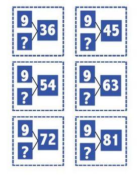 216 Number Bonds:  Mult. and Div. Number Bonds BUNDLE 2s - 9s