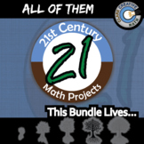 21st Century Math Projects - My Library! Volume 1 Bundle -