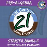 21st Century Pre-Algebra Project Starter Bundle -- Common