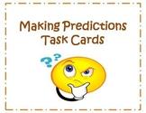 24 Making Predictions Task Cards