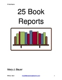 25 Book Reports