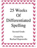 25 Weeks of Differentiated Spelling
