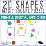 2D Shapes Magic Square