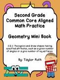 2.G.1 Geometry Practice Book: Second Grade Common Core Aligned