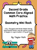 2.G.1 Geometry Practice Book: Second Grade Common Core Aligned